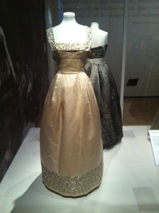Maria Antonelli evening dress with diamanté designed for actress Sandra Milo