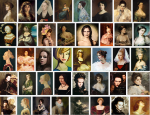 Portraits of Ladies