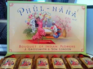 Phul-Nana, once England's most popular perfume.  Today's contemporary version is my favorite of the revamped Classic Collection