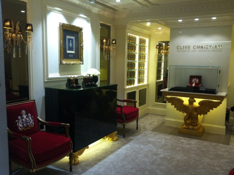 The stately Clive Christian boutique