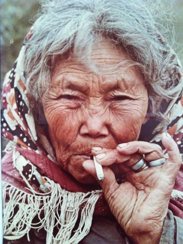 Dmitri Baltermants, Portrait from 'Meetings with Chukotka' series, 1965, Colour print