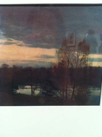 Vasily Ulitin, Evening, 1931, Three-coloured bromoil print