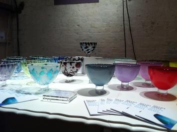 Based in Rosedale, Gillies Jones (gilliesjonesglass.co.uk) glass works have been exhibited in Japan, Korea and Switzerland.
