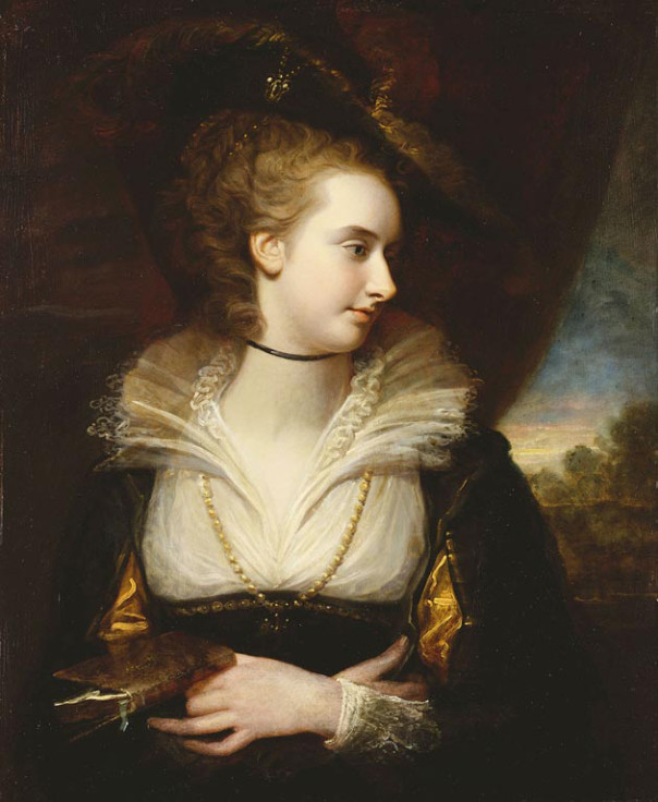 Elizabeth Milbanke Lamb, Viscountess Melbourne by Richard Cosway