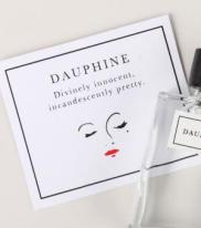 Daupine, Goest Perfumes. Divinely innocent, incandescently pretty.  Inspired by the redolent imageries of Sophia Coppola's film 'Marie Antoinette', Dauphine is a clean, ideal, fresh skin scent, pink and cream and white all over. This scent has notes of pink, full blown rose; milky, fresh, sweet almond; and a reveille of innocent, airy musks. This scent is sweet, but not in a lurid, hard-candy-way; it's sweet like fresh, cream-filled, rosewater-scented pastries.  Innocent, but not immature; quiet, never cloying: this charming and refined scent is superlatively, incandescently, and, quite simply, very, very pretty. Notes include Muscs, Almond, Roses, Cream.