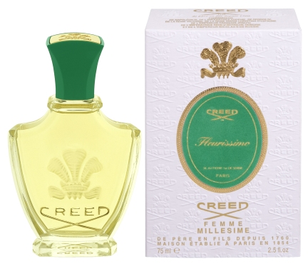 Said to have been commissioned for Grace Kelly's wedding to Prince Rainier III, Creed's Fleurissimo was launched in 1956. Perfumer James Henry Creed