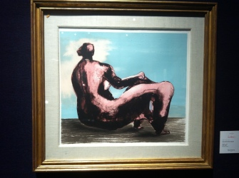 Reclining Woman I, Henry Moore