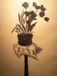 Black Tulips, David Hockney