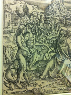 The Temptation of St Anthony, Jost de Negker, c. 1500-1520