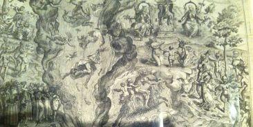 Detail from Description et figure du sabbat, Jean Ziarnko