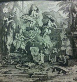 Detail from Les Sabbats (1698-1722), Claude Gillot