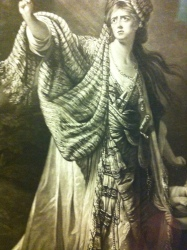 Mary Ann Yates as Medea, After Robert Edge Pine; Mezzotint, William Dickinson, 1771