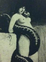 Die Sinnlichkeit (Sensuality), Franz von Stuck, 1898. Also sometimes referred to as Sin or Lilith.