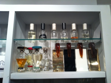 Spoilt for choice of perfumes at Roullier White