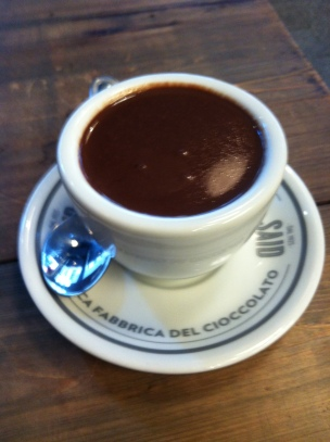 THE best hot chocolate in London at Said in Soho